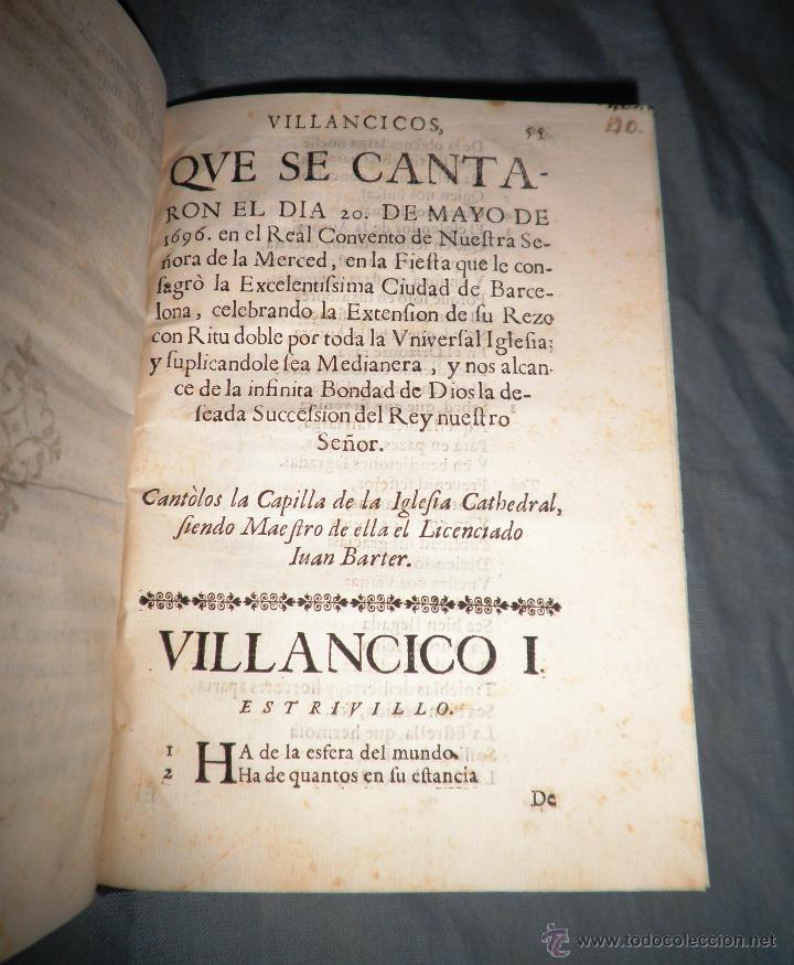 Libros antiguos: FESTIVOS Y MAGESTUOSOS CULTOS - AÑO 1686 - BARCELONA - MUY RARO. - Foto 6 - 45800754