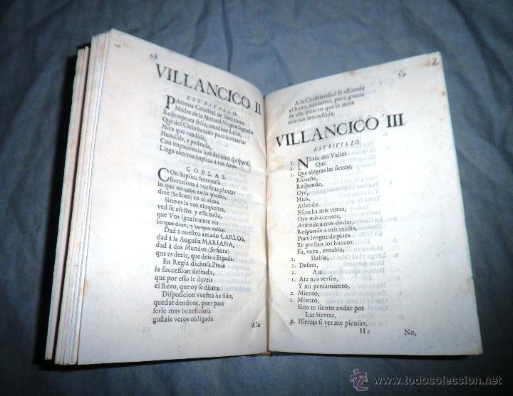 Libros antiguos: FESTIVOS Y MAGESTUOSOS CULTOS - AÑO 1686 - BARCELONA - MUY RARO. - Foto 7 - 45800754