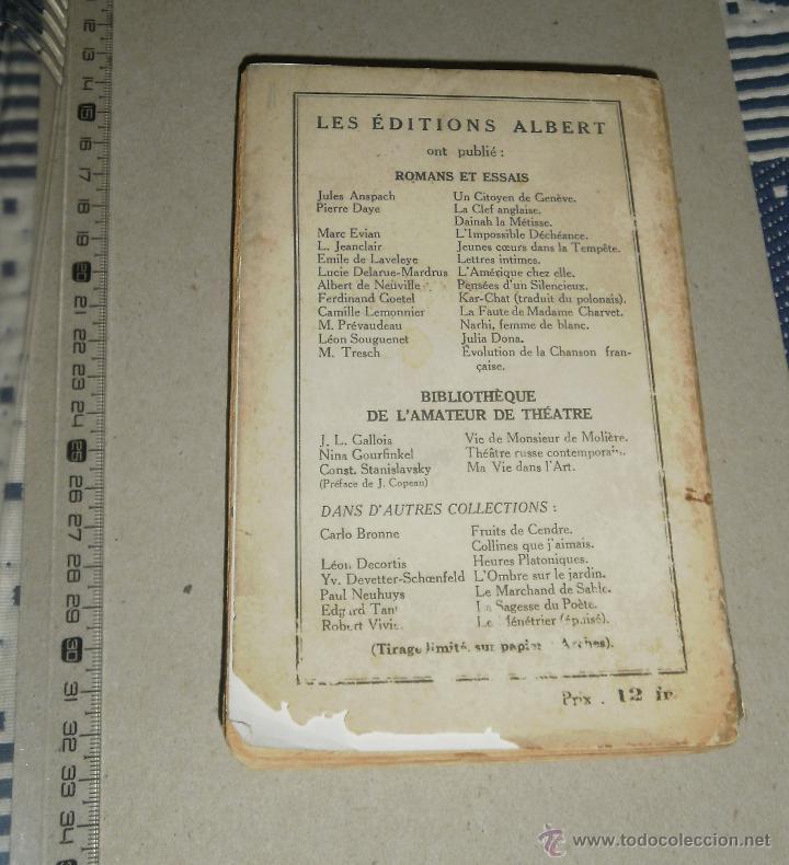 Libros antiguos: Libro. Comment Paris sera detruit en 1936. Major von Helders, 1933, Editions Albert - Foto 2 - 45805478