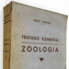 Libros antiguos: RÉMY PERRIER: TRATADO ELEMENTAL DE ZOOLOGÍA - 1928.. Lote 45904707