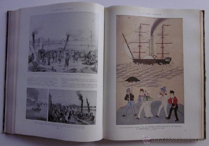 Libros antiguos: HISTOIRE DE LA MARINE - Foto 4 - 45973303