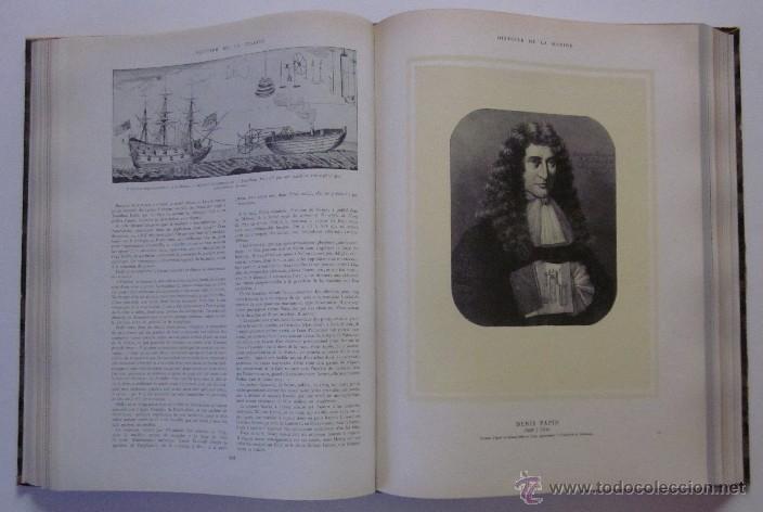 Libros antiguos: HISTOIRE DE LA MARINE - Foto 6 - 45973303