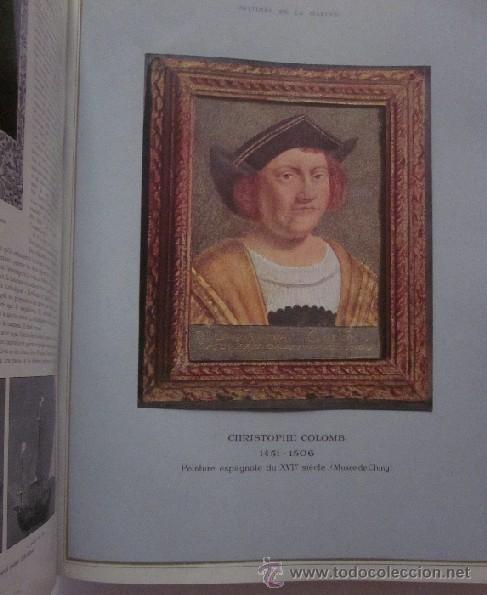 Libros antiguos: HISTOIRE DE LA MARINE - Foto 7 - 45973303