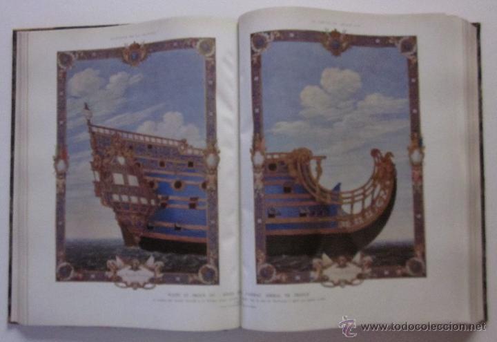 Libros antiguos: HISTOIRE DE LA MARINE - Foto 8 - 45973303