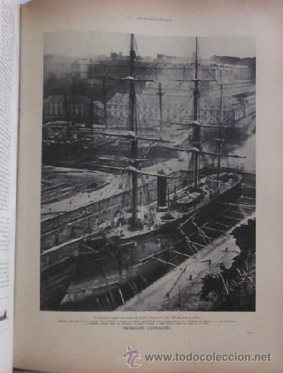 Libros antiguos: HISTOIRE DE LA MARINE - Foto 11 - 45973303