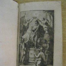 Libros antiguos: L'HISTOIRE DE FRANCE, TOMO VI,1706. MEZERAY, GRABADOS. Lote 45973707