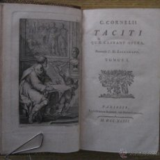 Libros antiguos: THE WORKS CORNELIUS TACITUS, TOMO I, 1793. CON GRABADOS.. Lote 46109507