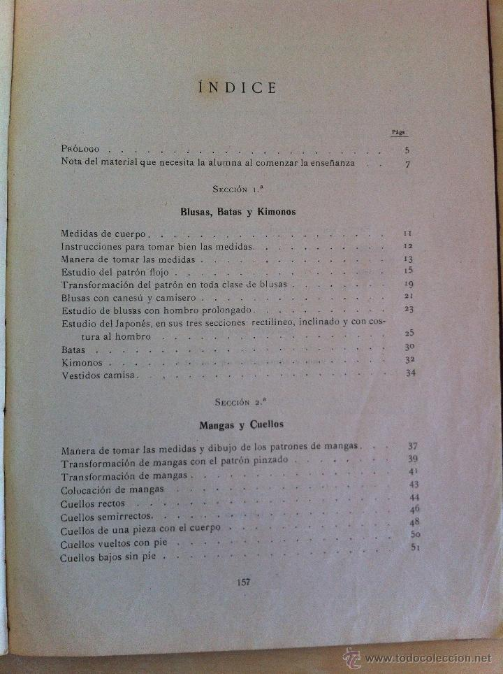 Libros antiguos: CORTE PRÁCTICO MODERNO. SISTEMA PRIETO. SOFÍA PRIETO LUCIANO. CORTE Y CONFECCIÓN. 1ª EDICIÓN. - Foto 32 - 46133582