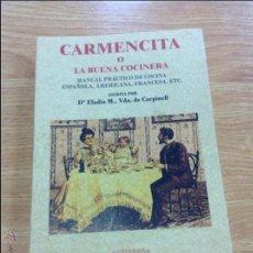 Libros antiguos: CARMENCITA. Lote 46069225