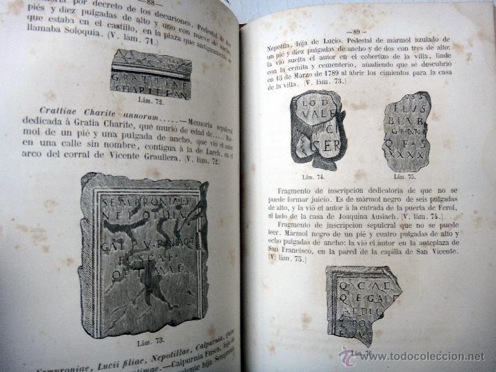 Libros antiguos: LIBRO MEMORIAS DE SAGUNTO , VALENCIA , 1865 , VICENTE BOIX , BUENA ENCUADERNACION , ORIGINAL - Foto 3 - 46193842