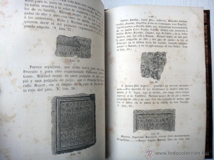 Libros antiguos: LIBRO MEMORIAS DE SAGUNTO , VALENCIA , 1865 , VICENTE BOIX , BUENA ENCUADERNACION , ORIGINAL - Foto 4 - 46193842
