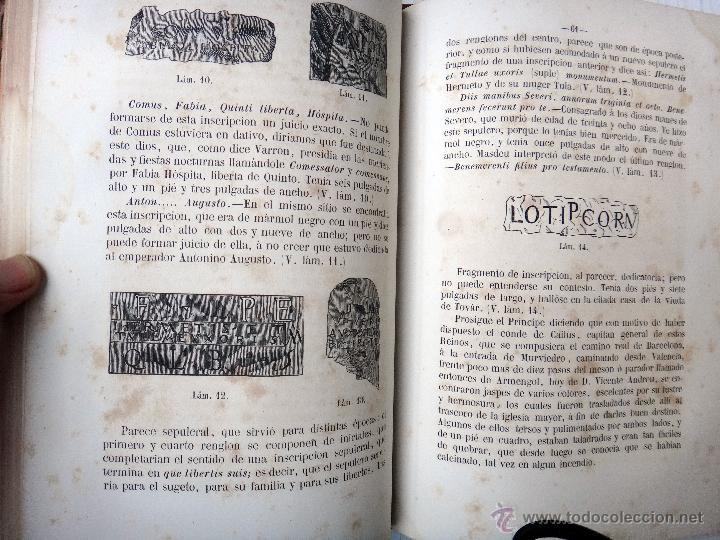 Libros antiguos: LIBRO MEMORIAS DE SAGUNTO , VALENCIA , 1865 , VICENTE BOIX , BUENA ENCUADERNACION , ORIGINAL - Foto 5 - 46193842