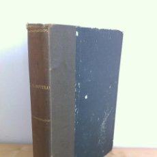 Libros antiguos: CALVO SOTELO, MEDICINA EN EL TRABAJO, EL CANTE ANDALUZ, LAS REALES ACADEMIAS Y MÁS. VER FOTOGRAFÍAS.. Lote 46249993