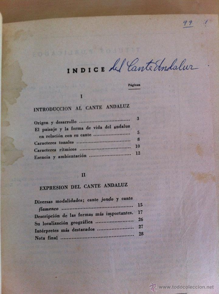 Libros antiguos: CALVO SOTELO, MEDICINA EN EL TRABAJO, EL CANTE ANDALUZ, LAS REALES ACADEMIAS Y MÁS. VER FOTOGRAFÍAS. - Foto 14 - 46249993