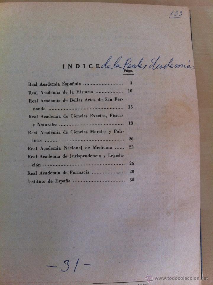 Libros antiguos: CALVO SOTELO, MEDICINA EN EL TRABAJO, EL CANTE ANDALUZ, LAS REALES ACADEMIAS Y MÁS. VER FOTOGRAFÍAS. - Foto 15 - 46249993