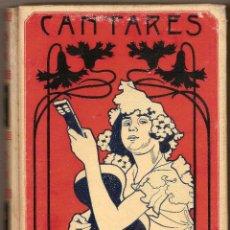 Libros antiguos: CANTARES POPULARES Y LITERARIOS RECOPILADOS POR MELCHOR DE PALÁU - 1900. Lote 46294130