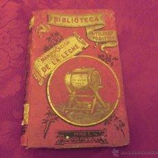 Libros antiguos: TRATADO PRÁCTICO 'MANIPULACIÓN DE LA LECHE' ALBERTO DE LARBARTRIER, PARÍS 1900. BRAVO Y ROULET. Lote 46349052