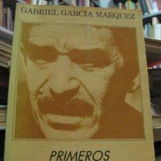 Libros antiguos: GARCIA MARQUEZ - PRIMEROS REPORTAJES - RARO - RARE - PRIMERA EDICION - FIRST ED.. Lote 46362976