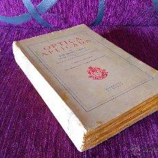 Libros antiguos: OPTICA APLICADA, JOSE MAÑAS Y BONVI 1935. Lote 46373306