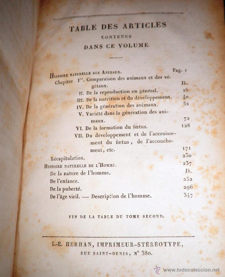 Libros antiguos: OBRAS DE BUFFON - AÑO 1842 - BELLA EDICION ILUSTRADA CON GRABADOS EN COLOR. - Foto 21 - 36367937