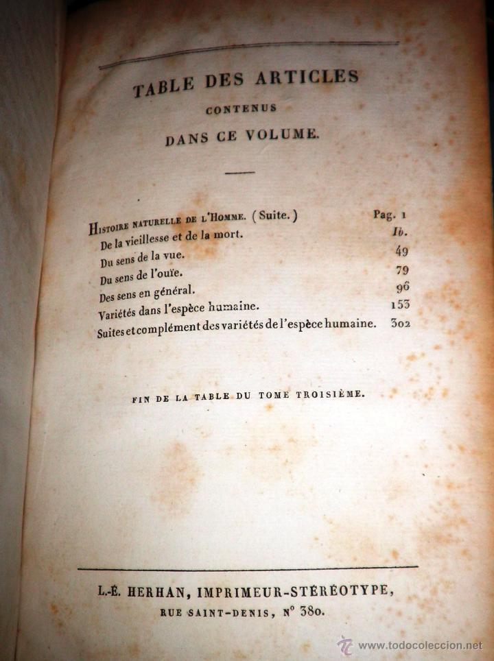 Libros antiguos: OBRAS DE BUFFON - AÑO 1842 - BELLA EDICION ILUSTRADA CON GRABADOS EN COLOR. - Foto 22 - 36367937
