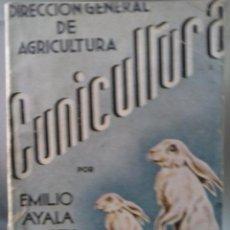 Alte Bücher - LIBRO DE CUNICULTURA DE LA DIRECCION GENERAL DE AGRICULTURA - 46413963