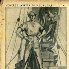 Libros antiguos: BASIL CAREY : EL PAPAGAYO GRIS (LECTURAS, C. 1935) ILUSTRADO POR BARSÓ. Lote 46419530