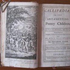 Libros antiguos: VARIAS OBRAS, DIVERSOS AUTORES, 1729-1746. BIEN ILUSTRADO. Lote 46421986