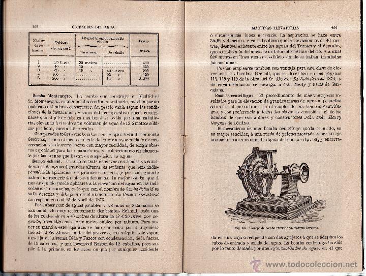 Libros antiguos: TRATADO DE AGUAS Y RIEGOS. ANDRES LLAURADO. IMPRENTA MANUEL TELLO. MADRID. 1878 - Foto 4 - 46422770