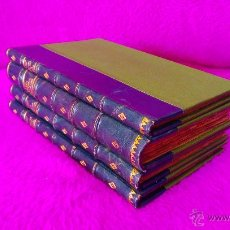 Libros antiguos: TERRASSA, BIBLIOTECA HISTORICA TERRASSENCA, D. JOSEPH SOLER I PALET, IV VOLUMS, 1893, 1900. Lote 46482038
