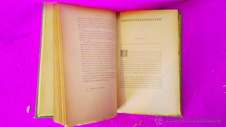 Libros antiguos: TERRASSA, BIBLIOTECA HISTORICA TERRASSENCA, D. JOSEPH SOLER I PALET, IV VOLUMS, 1893, 1900 - Foto 4 - 46482038