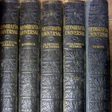 Libros antiguos: GEOGRAFIA INST. GALLACH 5 TOMOS DESCRIPCIÓN MODERNA DEL MUNDO. Lote 46541686