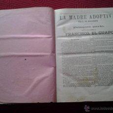 Libros antiguos: BIBLIOTECA DE EL IMPARCIAL. LA MADRE ADOPTIVA (E. DE RICHEBOURG) Y EL AHORCADO( XAVIER DE MONTEPIN). Lote 46585337