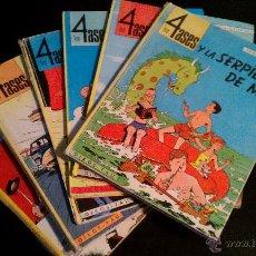 Libros antiguos: LOTE DE 5 ALBUMES OIKOS TAU LOS 4 ASES. PRIMERAS EDICIONES. BUEN EESTADO GENERAL. VER FOTOS. Lote 46587891