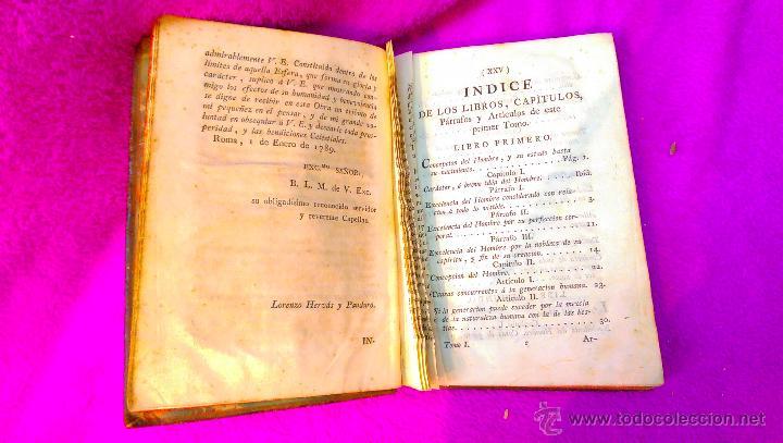 Libros antiguos: HISTORIA DE LA VIDA DEL HOMBRE, ABATE D. LORENZO HERVAS 1789 (INQUISICION CENSURA) - Foto 4 - 46603794
