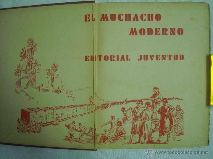 Libros antiguos: EL MUCHACHO MODERNO.EL LIBRO DE LOS GRANDES INVENTOS.1935.FOLIO. MUY ILUSTRADO - Foto 3 - 46616776