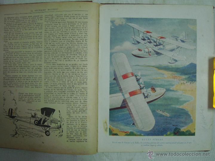 Libros antiguos: EL MUCHACHO MODERNO.EL LIBRO DE LOS GRANDES INVENTOS.1935.FOLIO. MUY ILUSTRADO - Foto 5 - 46616776