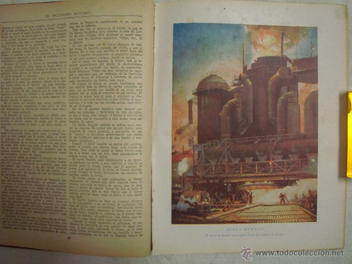 Libros antiguos: EL MUCHACHO MODERNO.EL LIBRO DE LOS GRANDES INVENTOS.1935.FOLIO. MUY ILUSTRADO - Foto 6 - 46616776