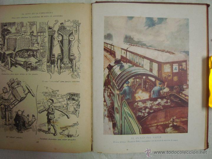 Libros antiguos: EL MUCHACHO MODERNO.EL LIBRO DE LOS GRANDES INVENTOS.1935.FOLIO. MUY ILUSTRADO - Foto 9 - 46616776