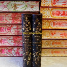 Libros antiguos: OEUVRES COMPLÈTES D'ALEXANDRE DUMAS . LES MOHICANS DE PARIS . ( 4 TOMOS EN 2 VOLS.) .. Lote 46656100