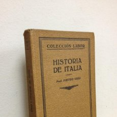 Libros antiguos: HISTORIA DE ITALIA. Lote 46697440