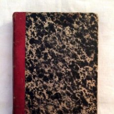 Libros antiguos: MANUAL DEL IMPUESTO ESPECIAL SOBRE LOS ALCOHOLES, AGUARDIENTES Y LICORES, 1904, ABELLA.. Lote 46720052