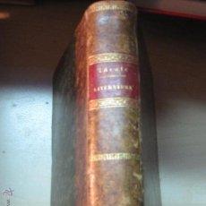 Libros antiguos: LITERATURA Nº 2 ZÁRATE EDITORIAL GASPAR Y ROIG AÑO 1862 SIGLO XIX. Lote 46782894