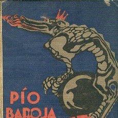 Libros antiguos: PÍO BAROJA LA VELETA DE GASTIZAR MEMORIAS DE UN HOMBRE DE ACCIÓN RAFAEL CARO RAGGIO EDITOR 1927. Lote 46790896