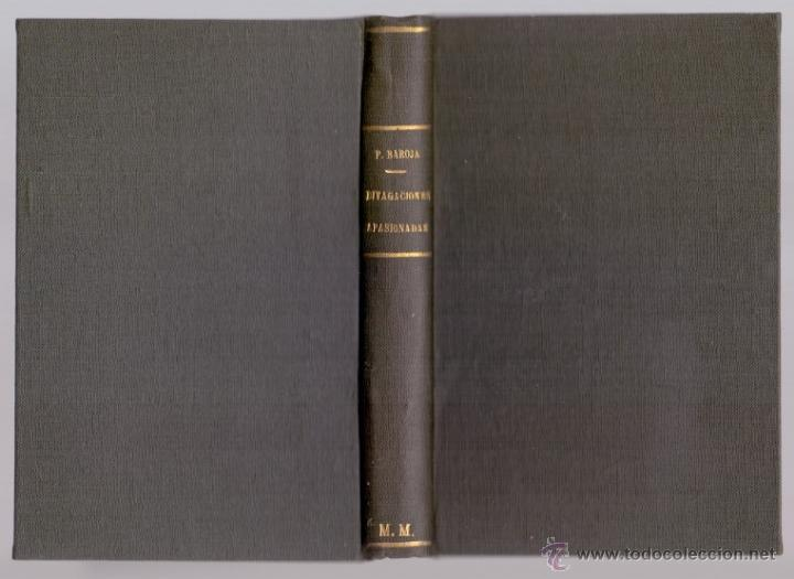 PÍO BAROJA DIVAGACIONES APASIONADAS RAFAEL CARO RAGGIO ED. MADRID 1927 * PÉREZ GALDOS AZORÍN VASCOS (Libros Antiguos, Raros y Curiosos - Literatura - Otros)