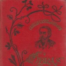 Libros antiguos: CAMILO CASTELO BRANCO. O BEM E O MAL. RM67557. . Lote 46817467