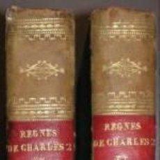 Libros antiguos: BOULAY DE LA MEURTHE, COMTE: TABLEAU POLITIQUE DES REGNES DE CHARLE II ET DE JACQUES II. Lote 46878178