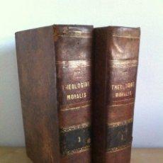 Libros antiguos: COMPENDIUM THEOLOGIAE MORALIS. P.IOANNIS PETRI GURY S.L. ANTONIO BALLERINII. 2 TOMOS. AÑO 1889.. Lote 46887239