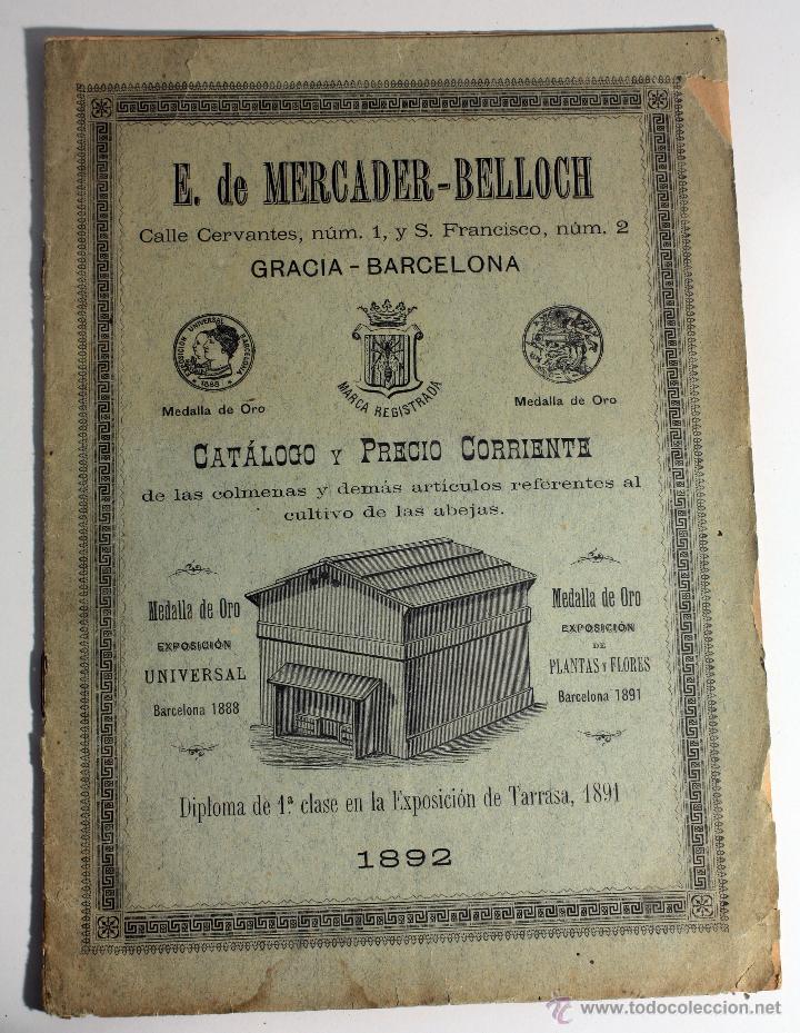 Catalogo y precio apicultura 1892 colmenas y de comprar - Libros antiguos valor ...