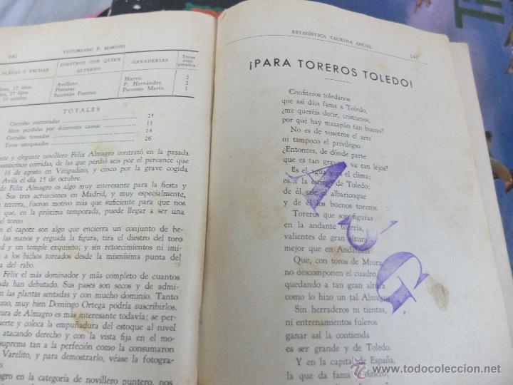 Libros antiguos: CURIOSO LIBRO INFORMATIVO DE LAS CORRIDAS DE TOROS DE MADRID ,TETUAN VISTA ALEGRE,EXTRANJERO-1932 - Foto 7 - 46896288